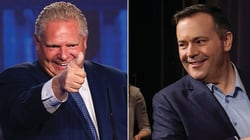 Kenney Stoked To Have Doug Ford As 'Ally' In Carbon Tax Fight With