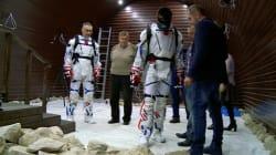 Dans les pas de Neil Armstrong: six volontaires tentent une nouvelle
