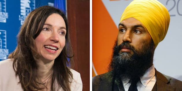 Bloc Québécois Leader Martine Ouellet says that NDP leadership candidate Jagmeet Singh is promoting Sikhism.