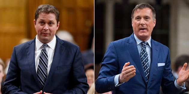 Conservative Leader Andrew Scheer announced Tuesday that he removed Quebec MP Maxime Bernier from his shadow cabinet role.