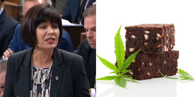Health Minister Ginette Petitpas Taylor was asked Tuesday about the legalization of marijuana edibles.