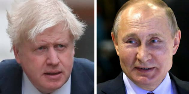 "Britain's Boris Johnson says the country will retaliate ""appropriately and robustly"" if it is proven that Russia was involved with the sudden illness of ex-spy Sergei Skripal."