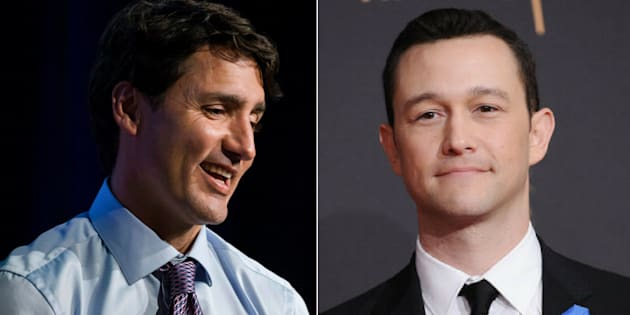 Prime Minister Justin Trudeau said actor Joseph Gordon-Levitt's comfort with calling himself a feminist influenced him.