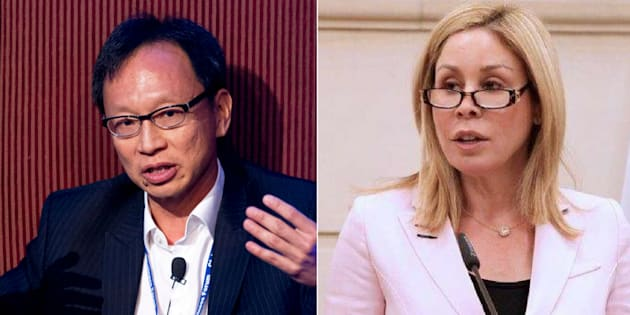 Independent Sen. Yuen Pau Woo and Conservative Sen. Linda Frum sparred on Twitter Monday over a bill proposing to close a Canada Elections Act loophole on foreign funding for third parties.