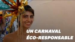 Au carnaval de Rio, des looks vegans et