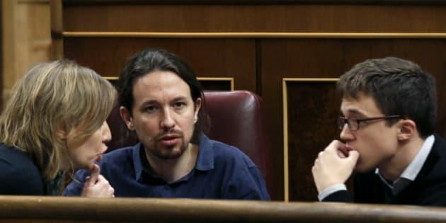Sánchez, Iglesias y Errejón