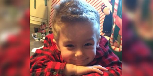 Thomas Livernoche has been identified by a relative as the child killed in a house fire in Quebec on Monday night.