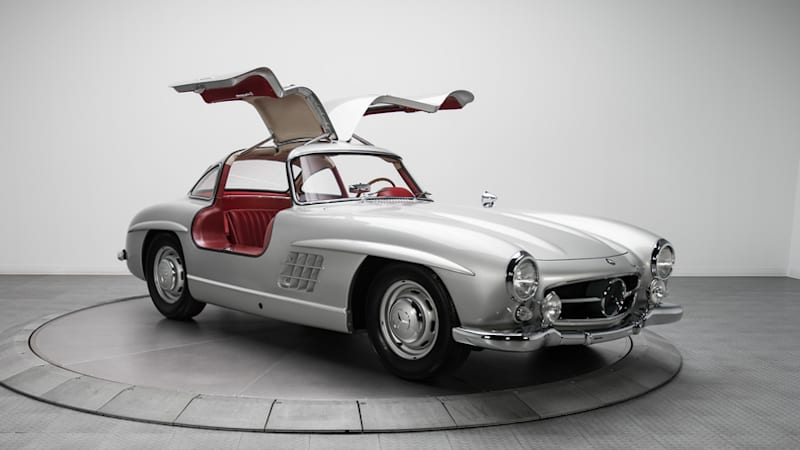 1954 Mercedes Benz 300sl With Canadian Roots Sells For 1 9m Autoblog