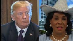 Trump nie avoir avoir manqué de respect à la veuve d'un