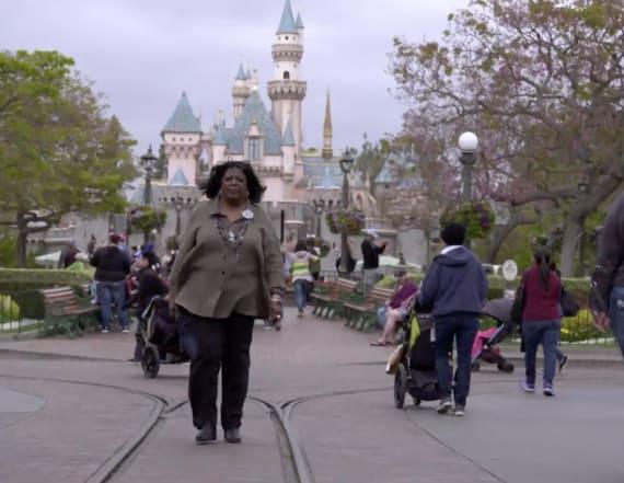 Martha Blanding has made history at Disneyland