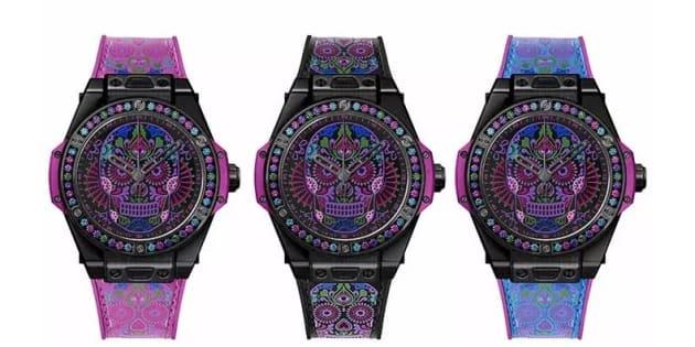Los relojes, las catrinas, las calaveras... El lujo de hoy. Hublot Big Bang One Click Calavera Catrine