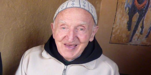 Le moine Jean-Pierre Schumacher, en avril 2011.