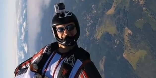 Calgary skydiver Aime-Jean St. Hilaire-Adam has died after an accident in California.