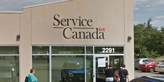 A Service Canada location in Toronto. Families Minister Jean-Yves Duclos is defending a directive from the government department to ask its employees to use gender-neutral language when interacting with Canadians.