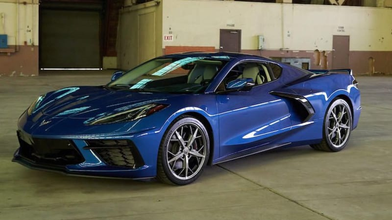2020 Chevy Corvette C8 rolls out of the hangar, ready for takeoff