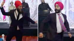 Jagmeet Singh, Navdeep Bains Face Off On The Dance