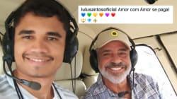 O amor de Lulu Santos: 'Eu voo além desse