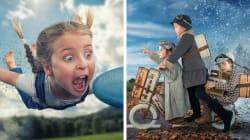 12 fotos surreais que vão te mostrar como a paternidade é divertida (e