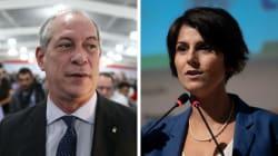 Ciro articula apoio de PSB e do PCdoB de Manuela D'Ávila no 1º