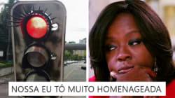 Os semáforos com cílios de Curitiba eram TUDO o que precisávamos para o Dia da