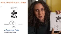 Efeito Jout Jout: 'A Parte que Falta' já é o livro mais vendido da