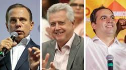Candidatos a governador mais amados são também os mais