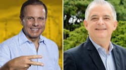 SP: João Doria tem 53% e Márcio França,