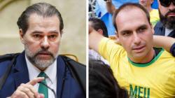 A resposta do presidente do STF a Eduardo Bolsonaro: 'Ataque à