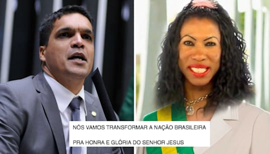 Cabo Daciolo ou Inês Brasil: Quem pregou