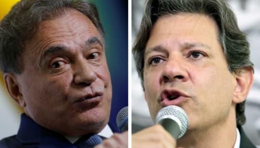 Alvaro Dias Pistola dispara artilharia contra Haddad: 'Porta-voz da