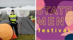 Suecas se uniram por um festival só de mulheres até que 'homens aprendam a se