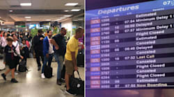 Mais de 70% dos voos em Congonhas estão cancelados ou atrasados nesta