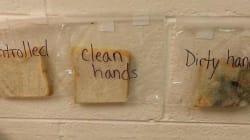 La lezione di questa insegnante sui germi è disgustosa, ma i bambini non la dimenticheranno