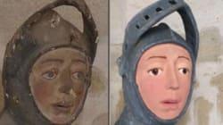 聖人の彫刻が「恐ろしい状態」に ⇒