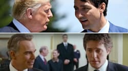 People Think Trump And Trudeau Just Had Their 'Love Actually'