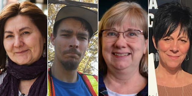 Lori Paras, Joshua Hewitt, Sally Colquhoun and Angie Lynch are disappointed that Ontario's basic income pilot was pre-emptively cancelled by the Progressive Conservative government.
