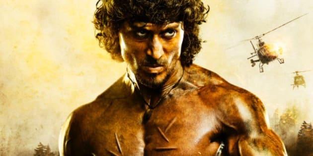 """Avec ce Rambo indien, Bollywood montre que le """"Nanar"""" est bien vivant."""