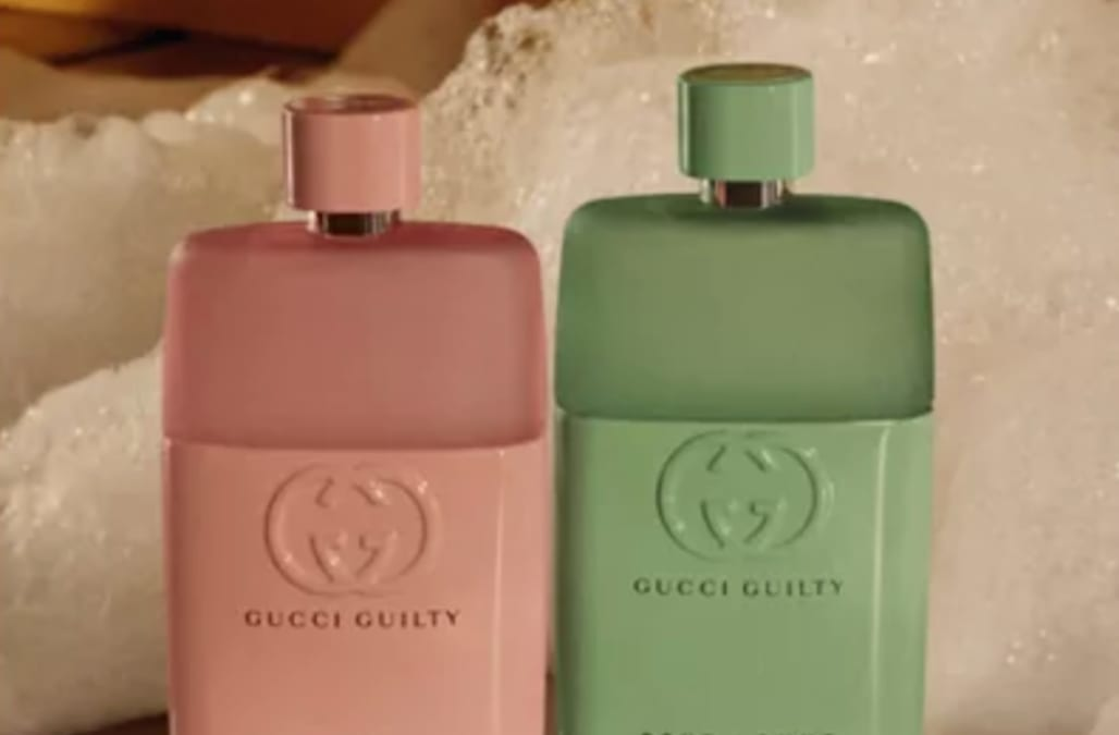Gucci has the perfect his and her fragrances in time for Valentine's Day