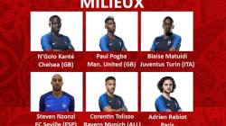 Voici la liste des 23 Bleus si Didier Deschamps se fiait à Fifa