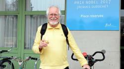 Son prix Nobel aura permis à ce chercheur d'obtenir une place de vélo