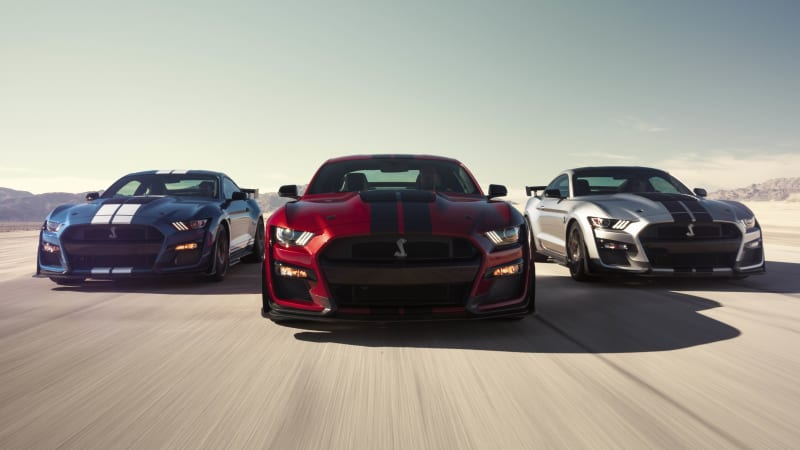 2020 Ford Mustang Shelby GT500 pumps out 700+ hp courtesy blown 5.2L V8