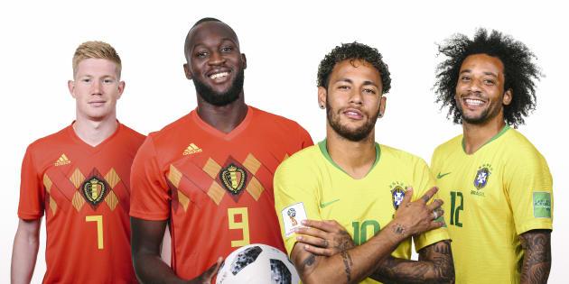 O talento de De Bruyne, Lukaku e companhia ou Ousadia e Alegria de Neymar?