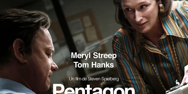 "L'affiche du film ""Pentagon Papers"" de Steven Spielberg avec Meryl Streep et Tom Hanks"
