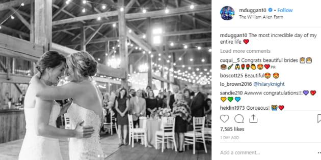 Meghan Duggan And Gillian S U Canada Hockey Rivals Just Got Married