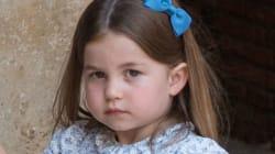 El gesto de hermana mayor de la princesa Carlota en el bautizo del príncipe