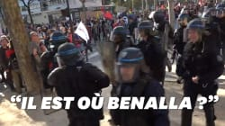 Les images de la manif contre Macron et sa politique sociale à