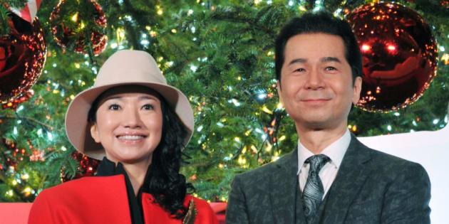 DREAMS COME TRUEの吉田美和さん(左)と中村正人さん(2015年12月12日撮影)