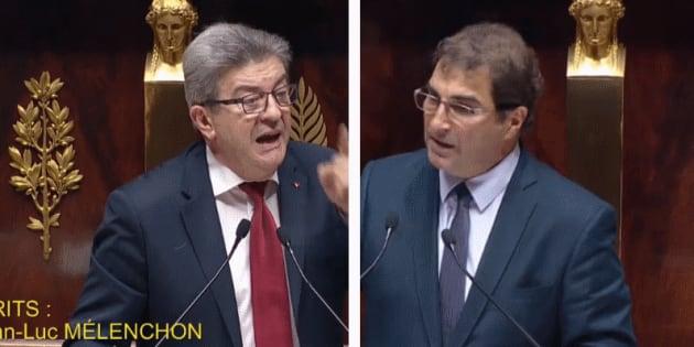 Jean-Luc Mélenchon et Christian Jacob ont tous les deux senti un parfum de fin de règne après le discours d'Édouard Philippe à l'Assemblée.