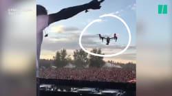 Voilà pourquoi on n'utilise pas un drone de cette manière pendant un