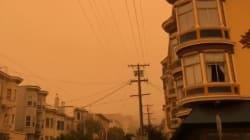 Les habitants de San Francisco se sont réveillés avec un ciel orangé au-dessus de leur